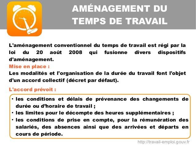 Modulation Et Annualisation Du Temps De Travail A Temps Partiel