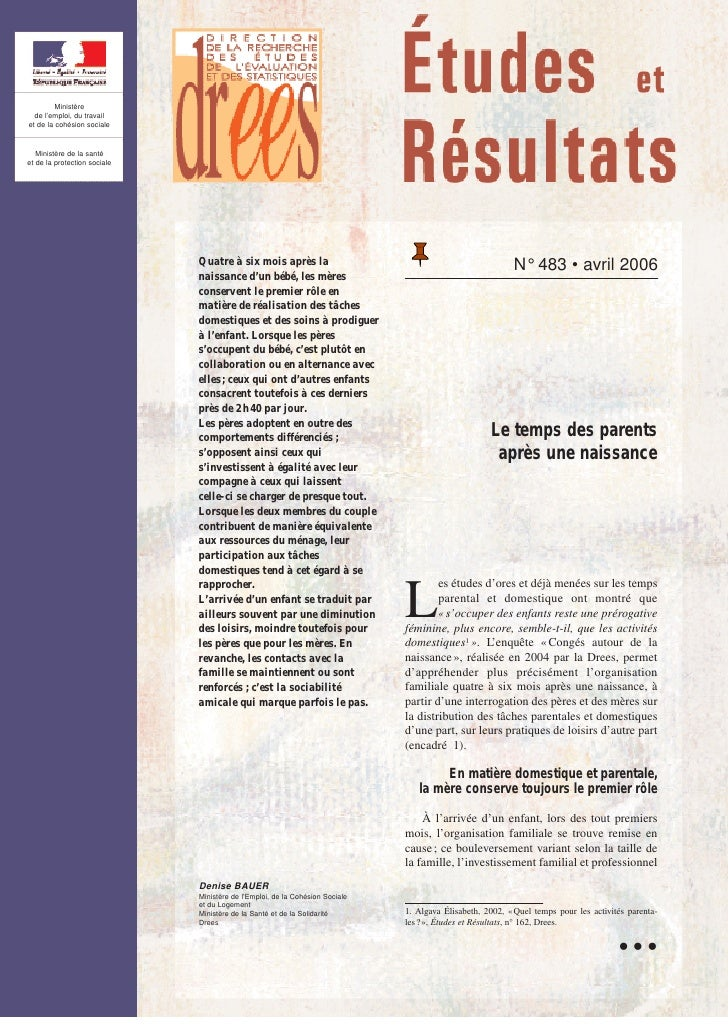 Ministère   de l'emploi, du travail et de la cohésion sociale      Ministère de la santé et de la protection sociale      ...