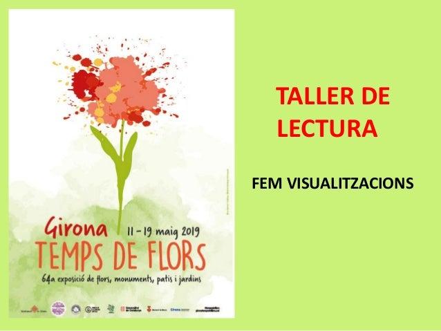 TALLER DE LECTURA FEM VISUALITZACIONS