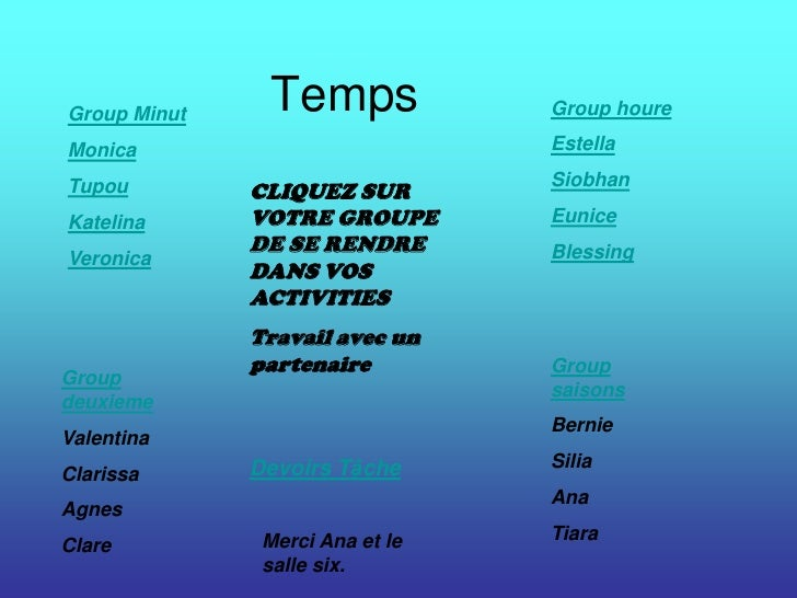 Group Minut                Temps             Group houre  Monica                           Estella                        ...