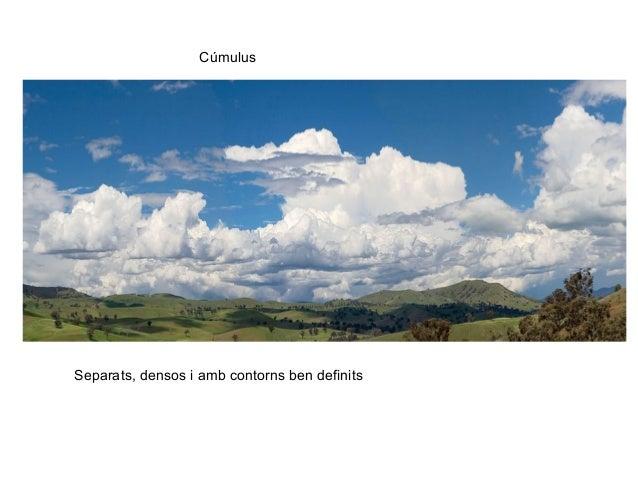 Cúmulus Separats, densos i amb contorns ben definits
