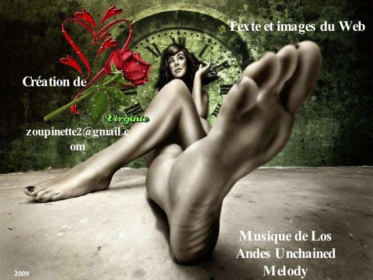 Création de [email_address] Texte et images du Web Musique de Los Andes Unchained Melody 2009