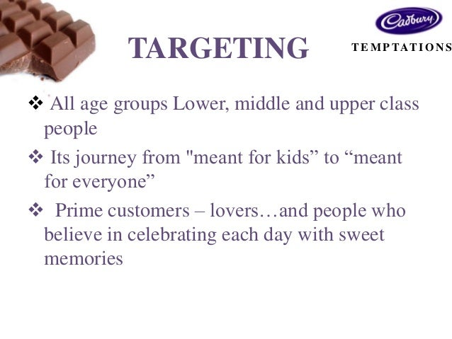 market plan of cadbury This swot analysis discusses cadbury the largest global confectionery supplier, with 99% of global market share.