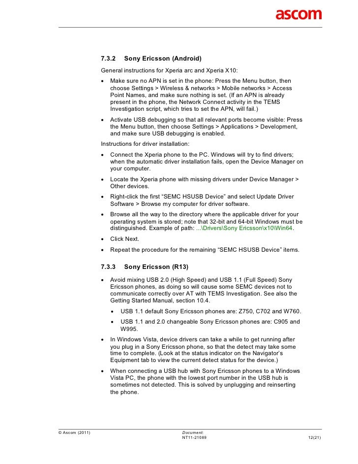 Tems Investigation 131 Release Note