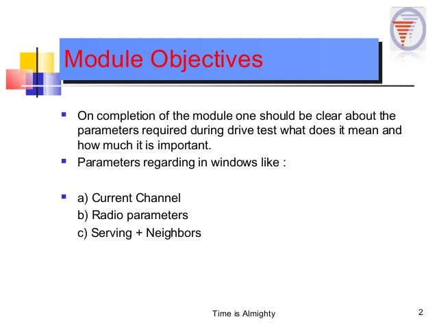 TEMS PARAMETERS Slide 2
