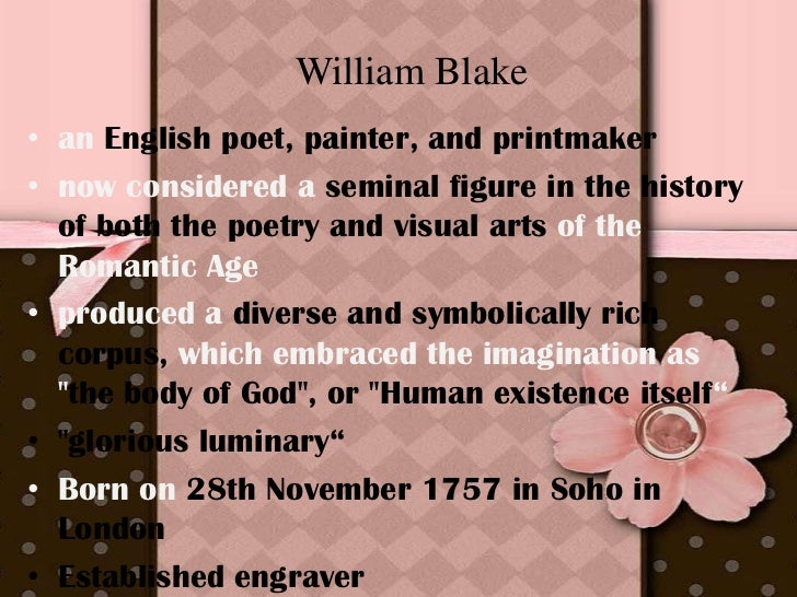the lamb and the tiger The tyger is a poem taken from william blake's songs of experience  by the  presence of the creature, which he constantly compares to the domestic lamb.