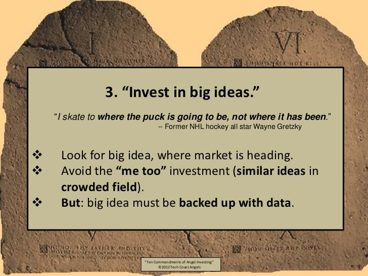 """3. """"Invest in big ideas.""""    """"I skate to where the puck is going to be, not where it has been.""""                           ..."""