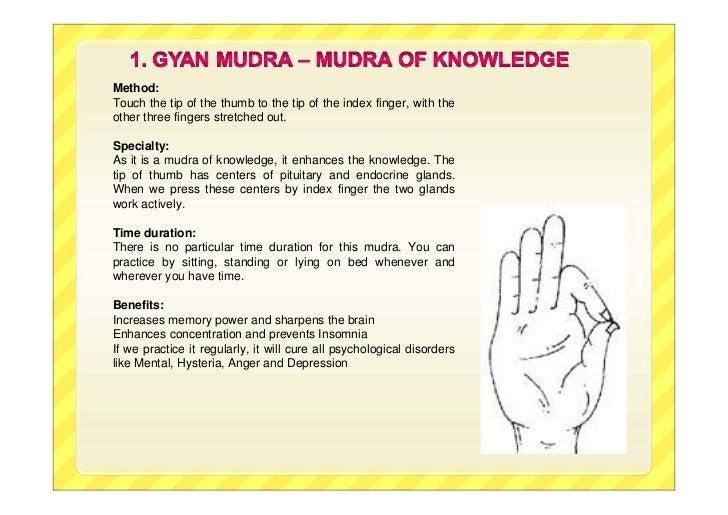 Ten healing-mudras
