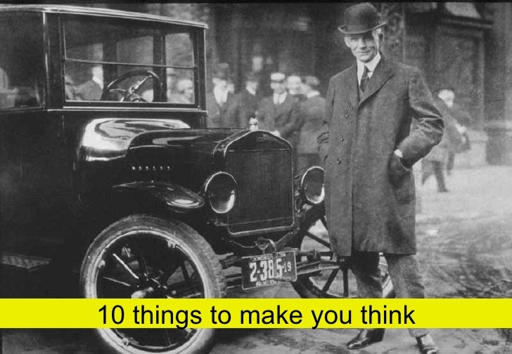 10 things to make you think