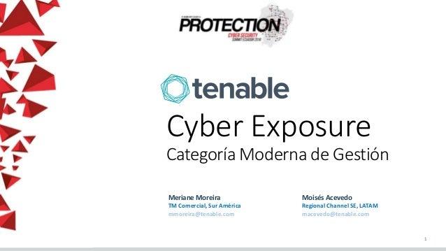 Cyber Exposure - Categoría Moderna de Gestión