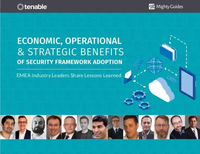 Tenable: Economic, Operational and Strategic Benefits of