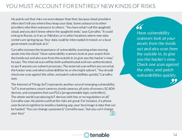 Tenable: Reducing Cyber Exposure from Cloud to Containers