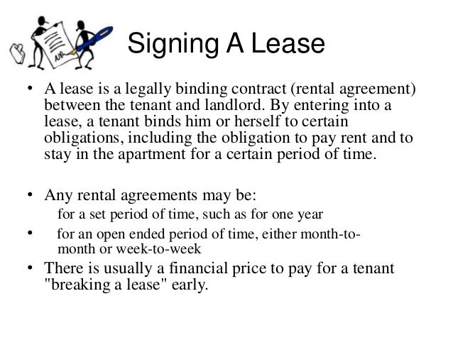 Tenant Landlord Presentation