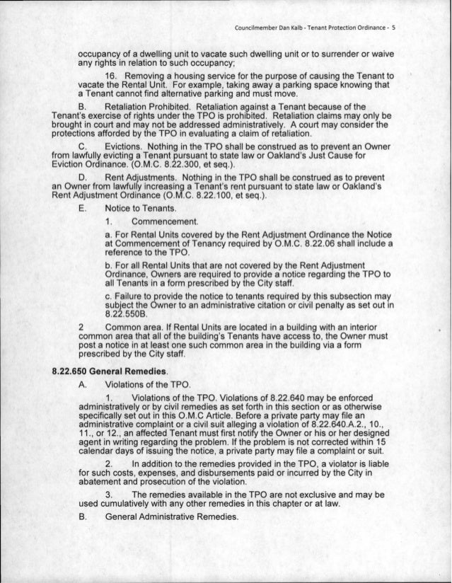 an argument against the tenant protection act in ontario Policy options for continuing tenant protection  against a tenant in pre‑confederation times is in  the landlord and tenant act, r.