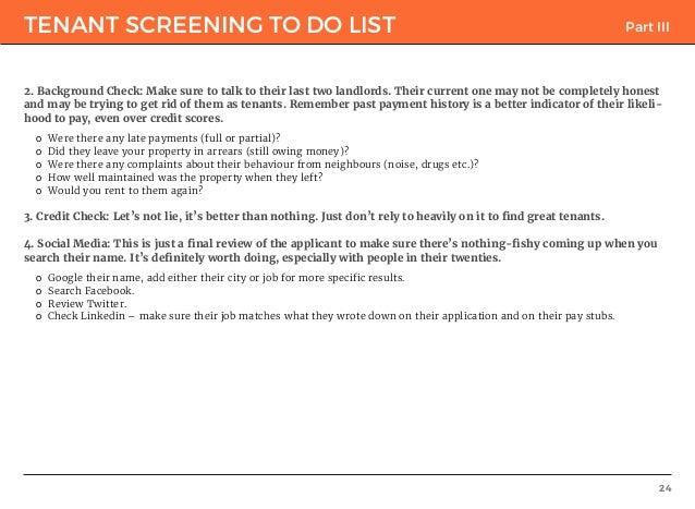 Ultimate Tenant Screening Guide