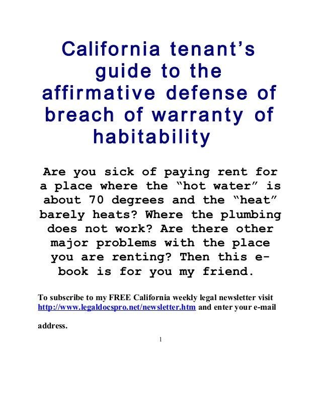 Legal Guides - California Department of Consumer Affairs