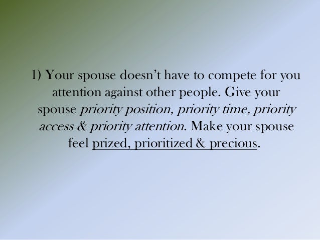 keep your marriage private