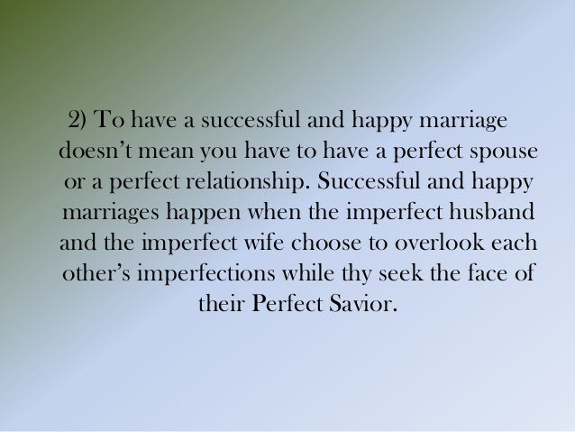 ten commandments for a happy married life