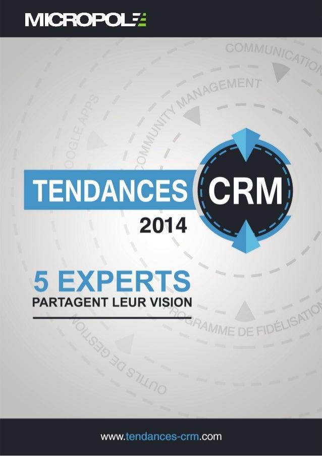 Tendances CRM 2014 1 www.tendances-CRM.com