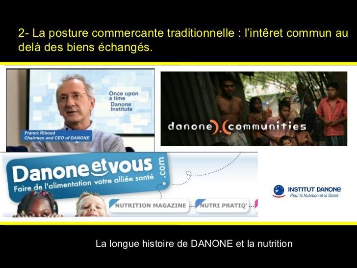 2- La posture commercante traditionnelle : l'int ê ret commun au delà des biens échangés.   Psychologies magazine   La lon...