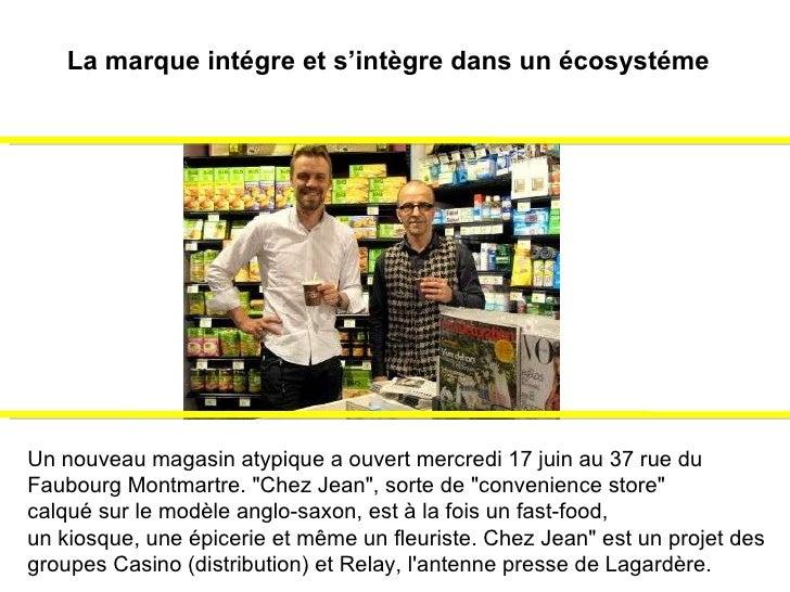 """Un nouveau magasin atypique a ouvert mercredi 17 juin au 37 rue du  Faubourg Montmartre. """"Chez Jean"""", sorte de &..."""