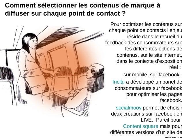 Pour optimiser les contenus surchaque point de contacts l'enjeuréside dans le recueil dufeedback des consommateurs surles ...