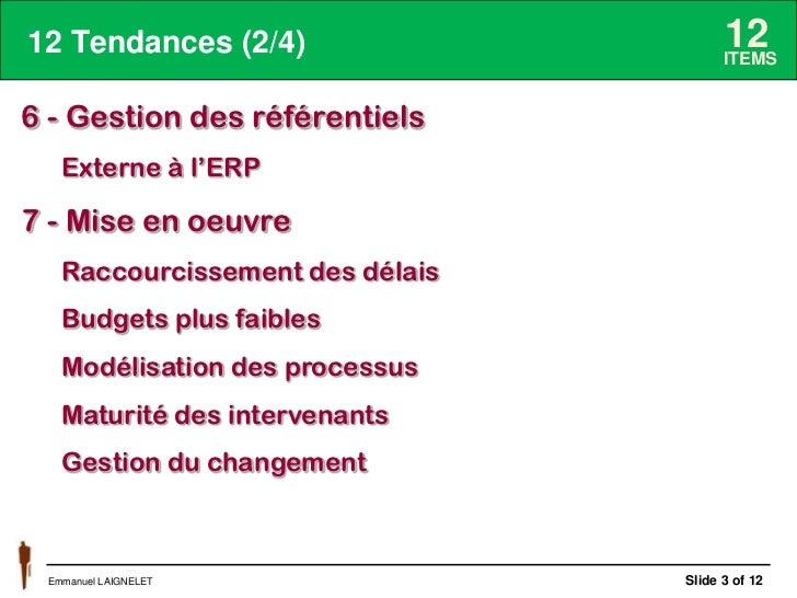 Tendances de l'ERP pour 2014 Slide 3