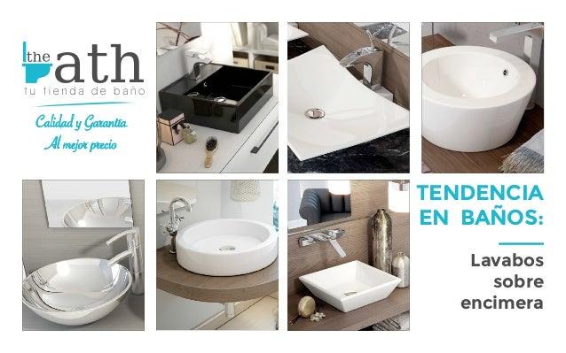 tendencia en baos lavabos sobre encimera calidad y garanta al mejor precio