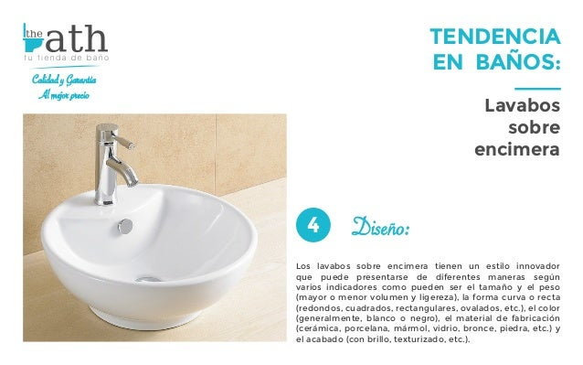 Tendencia en ba os lavabos sobre encimera for Lavabos cuadrados sobre encimera