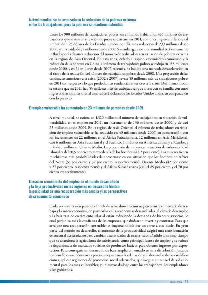 Tendencias mundiales de empleo 2012 oficina internacional for Oficina internacional de epizootias