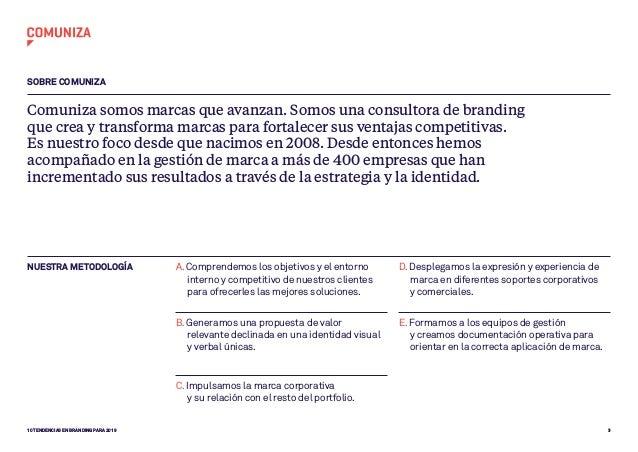 Informe de tendencias en branding para 2019 según Comuniza Slide 3