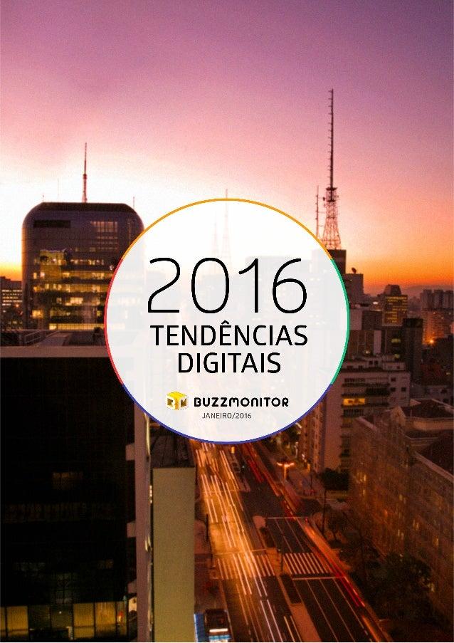1TENDÊNCIAS DIGITAIS - 2016