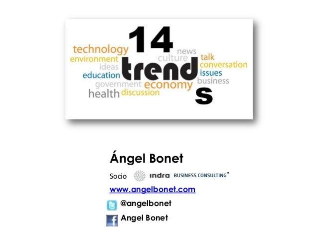 www.angelbonet.com @angelbonet Angel Bonet Ángel Bonet Socio