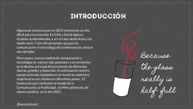 Tendencias 2015 español Slide 2