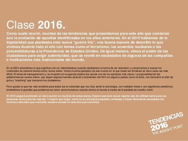 TENDENCIAS 2016   Slide 3