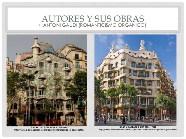Tendencias de la arquitectura contempor nea Romanticismo arquitectura
