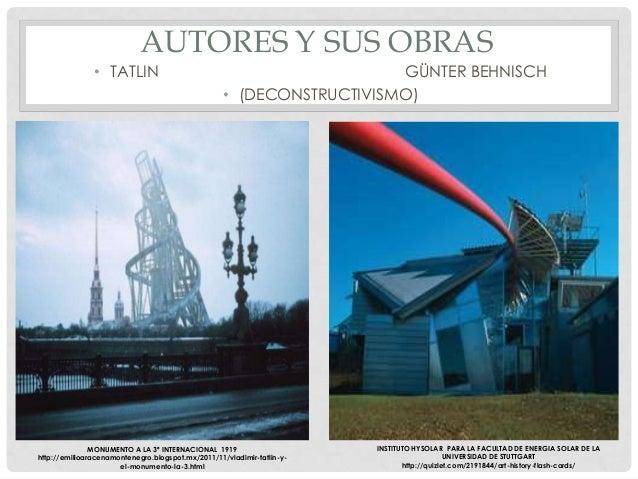 Tendencias de la arquitectura contempor nea for Arquitectos y sus obras