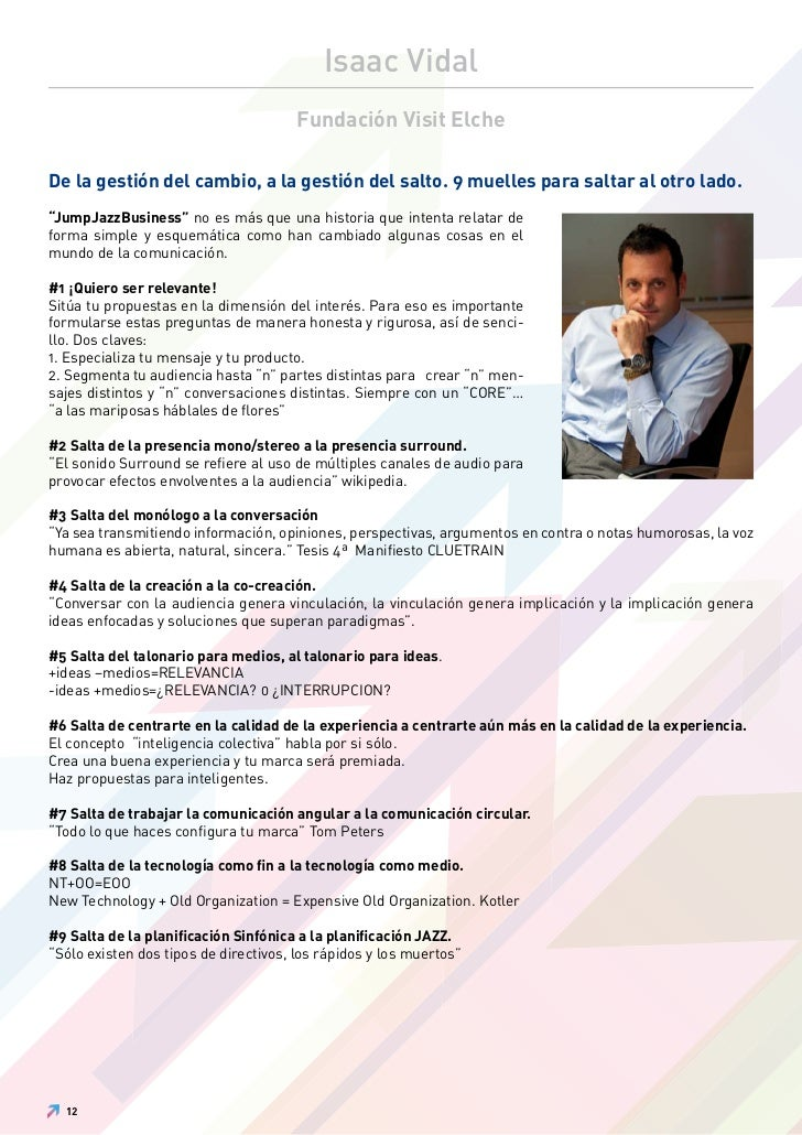 Isaac Vidal                                       Fundación Visit ElcheDe la gestión del cambio, a la gestión del salto. 9...