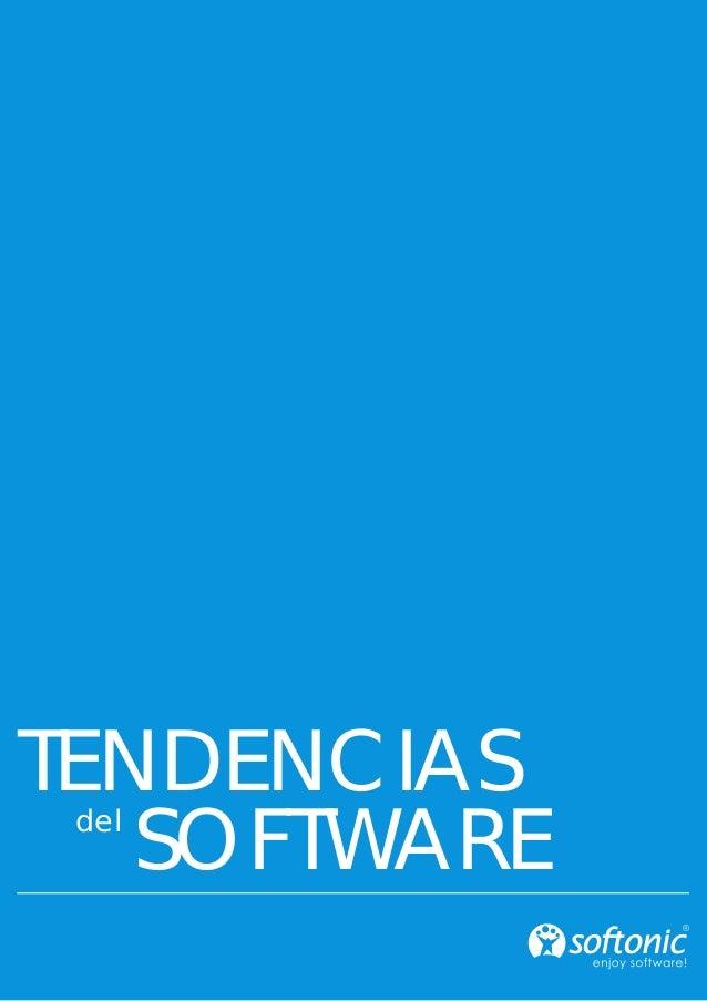 TENDENCIAS SOFTWAREdel