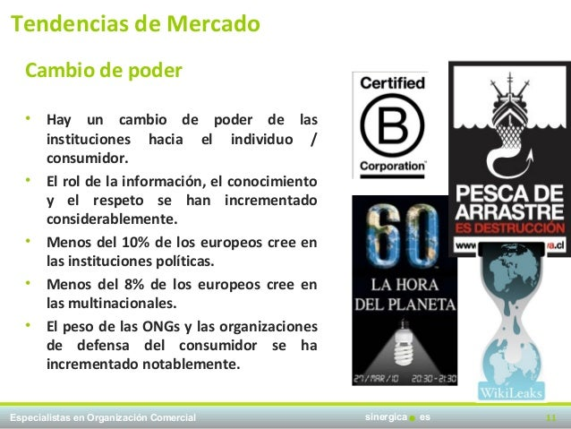 Tendencias de Mercado   Cambio de poder   •   Hay un cambio de poder de las       instituciones hacia el individuo /      ...