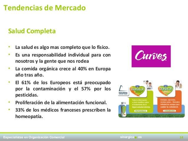 Tendencias de Mercado   Salud Completa   •   La salud es algo mas completo que lo físico.   •   Es una responsabilidad ind...