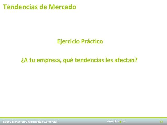 Tendencias de Mercado                                      Ejercicio Práctico            ¿A tu empresa, qué tendencias les...