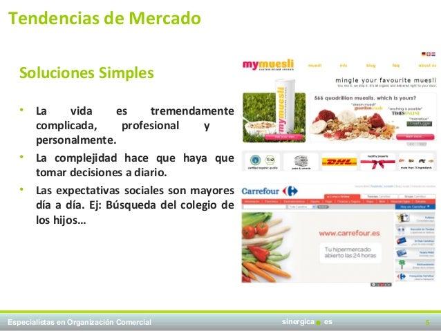 Tendencias de Mercado   Soluciones Simples   •   La      vida    es    tremendamente       complicada,      profesional   ...