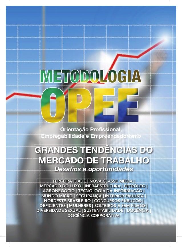 Orientação Profissional, Empregabilidade e EmpreendedorismoGRANDES TENDÊNCIAS DO MERCADO DE TRABALHO       Desafios e oportu...