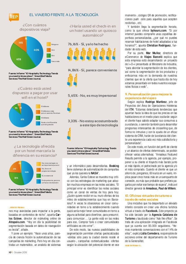 Octubre 2013 11 Volando hacia el futuro Tendencias e innovaciones en los transportes S egún las previsiones realizadas por...