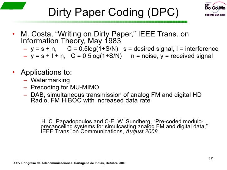dirty paper watermarking 13 importanceof digital watermarking 9 2 applications and properties 11 21 applications 12 522 a dirty-paper code for a simple channel 135.