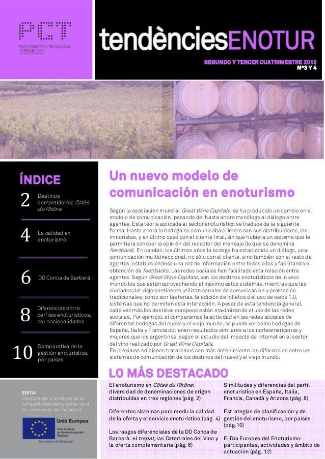 SEGUNDO Y TERCER CUATRIMESTRE 2012                                                                                        ...