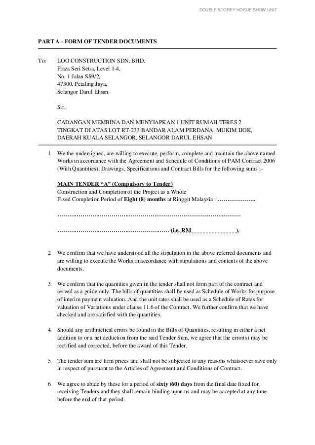 Measurement 4 Tender Document