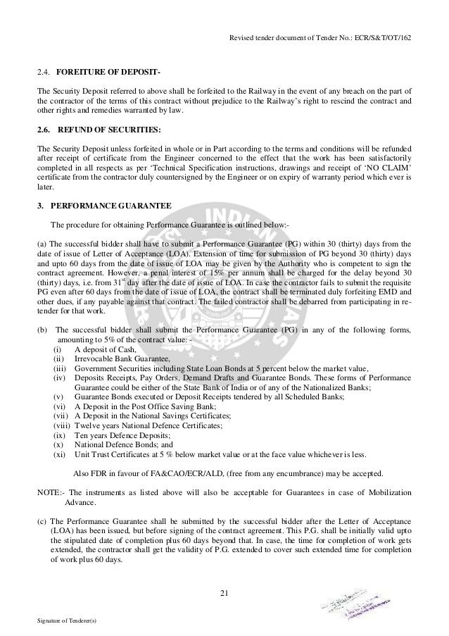 Tender ecr revised 20 signature of tenderers 21 thecheapjerseys Images