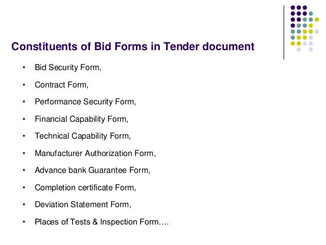 Tendering process bid evaluation award process 17 yadclub Gallery